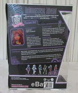 Monster High Clawdeen Wolf First Wave New in Box Actual Doll