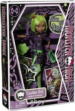 Monster High Dawn of the Dance Clawdeen Wolf 10.5-Inch Doll