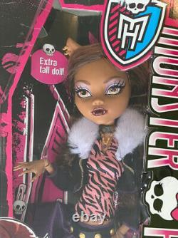Monster High FRIGHTFULLY TALL GHOULS CLAWDEEN WOLF Werewolf 17 Doll DHC41 NRFB