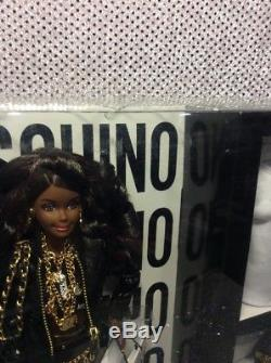 Moschino Barbie Doll 2015 Aa African American Gold Label Mattel Dnj32 Nrfb