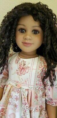 My Twinn Tasha 23 doll African American (AA) 04 skin 2005 body pristine