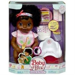 NEW Baby Alive Learns to Potty Girl Doll African American