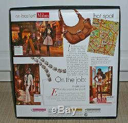 NEW Barbie Collector Best Models On Location Milan Doll AA African American 2006