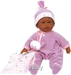 NEW JC Toys La Baby 11-Inch African American