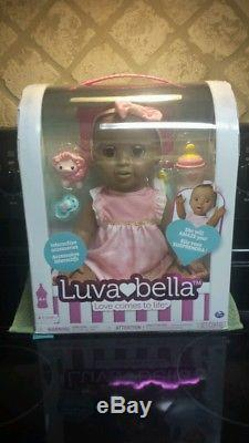 NEW LUVABELLA INTERACTIVE AFRICAN AMERICAN DOLL SOLD OUT RARE! Tractor