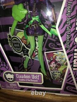 NEW Mattel Monster High Doll 2009 Clawdeen Wolf Daughter of the Werewolf