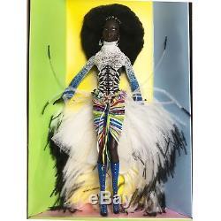 NIB MBILI Barbie Doll Treasures of Africa Byron Lars African American NRFB