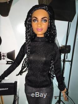 NIB NRFB PLATINUM Label AVA DUVERNAY Barbie Doll AA Black African American Rare