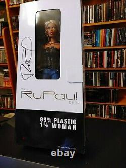 NIB Rupaul Doll Jason Wu Limited Edition AUTOGRAPHED VERY RARE! Ru-mix Blonde