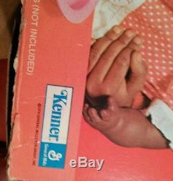 NIOB. Baby Alive Doll by Kenner (1974) African american