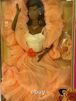NOS 1984 Peaches'n Cream AA African American Barbie Doll #7926 Mattel NRFB