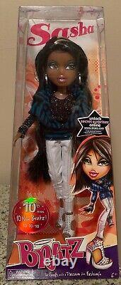 NRFB 2010 MGA Collector Doll 10th Anniversary BRATZ Doll SASHA 10/10/10
