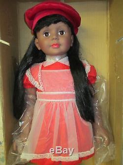 NRFB Ashton-Drake Reproduction IDEAL Doll PATTI PLAYPAL 35 African American