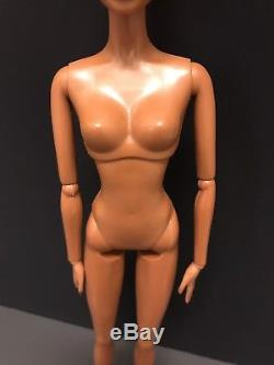NUDE Jazz Baby Diva Barbie Doll L7261 African American Doll Model Muse Pivotal