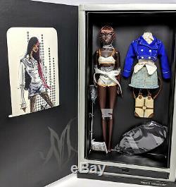 Nadja Hard Act To Follow NRFB NuFace Fashion Royalty Doll Jason Wu Integrity, LE