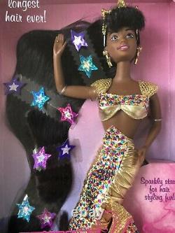New Barbie 1995 Jewel Hair Mermaid Aa Doll Longest Hair Ever #14587