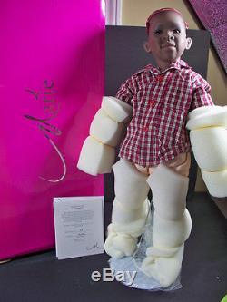 Nib Marie Osmond Emmanuel Doll Haiti Relief Aa Rare! African American Black