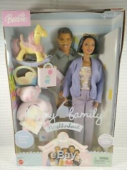 Nrfb Barbie N137 Happy Family Aa Grandma African American Grandmother Doll