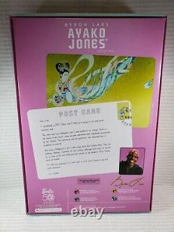 Nrfb Barbie N316 Gold Label Byron Lars Passport Collection Ayako Jones Aa Doll