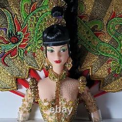 Nrfb Barbien626 Fantasy Goddess Of Asia Raven Steffie Doll Signed By Bob Mackie