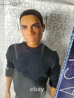Nrfb Ken Doll N435 Barbie Basics Jeans Collection Model 17 Muse 002 Raven Aa