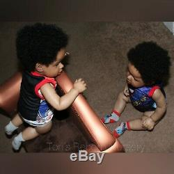 OOAK Ethnic Twin Liam Toddlers