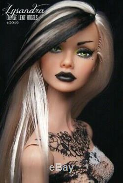 OOAK Repaint Reroot 12 Fashion Royalty Poppy Parker dressed LAURIE LENZ ANGELS