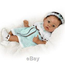 Precious 22 So Real Life Like Interactive African American Baby Doll Dolls New