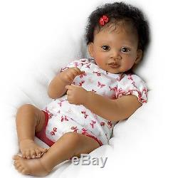 Precious Interactive Realistic Life Like African American Baby Doll Dolls New