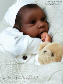 PROTOTYPE Nailah by Jorja Pigott Reborn Doll (Ethnic/AA/Biracial)