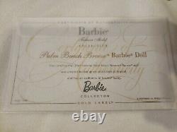 Palm Beach Breeze Silkstone Barbie Doll 2009 Gold Label Mattel R4484 Nrfb