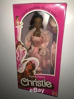 Pink + Pretty Christie Barbie Doll AA Vintage 3555 1981 Steffie Face RARE HTF