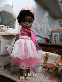 Pre-Blythe Vintage Rare Soul Sister Susie Sad Eyes African American Doll Keane
