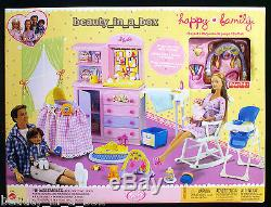 Pregnant Midge Barbie Doll Baby Happy Family Alan Ry Nursery African American AA