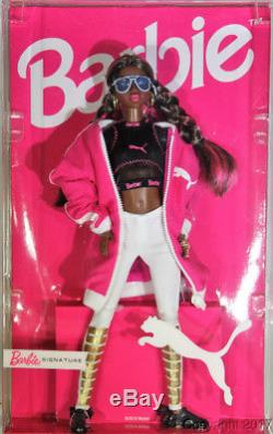 Puma 50th Anniversary African American Barbie Doll NEW for 2018
