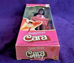 RARE 1976 NRFB Vintage BALLERINA CARA Barbie Doll Steffie Face AA Beauty BIN