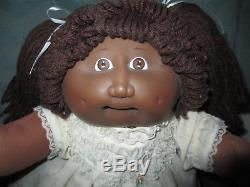 RARE 1983 FRECKLES AFRICAN AMERICAN GIRL CABBAGE PATCH KIDS DOLL, Old Dolls