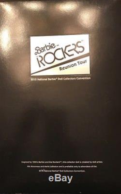 RARE African American BARBIE ROCKERS REUNION TOUR Lmtd Ed 2010 #R4552 NRFB