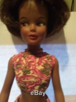 RARE Ideal VINTAGE 1965 African American RARE Grown Up BLACK TAMMY 12 Doll