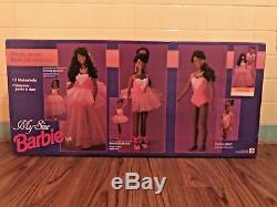 RARE NOS 1993 Mattel My Size Barbie African American Glamour Glitter Ballerina