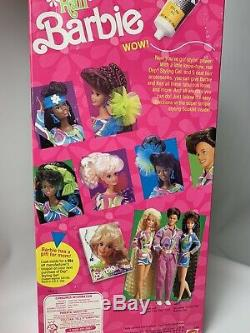 RARE Vintage African American Totally Hair Barbie NIB 1991