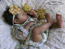 REALBORN JOHANNAH EthnicAABi-RacialBountifu BabyNewborn Reborn Baby Girl