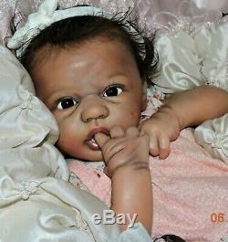 Randee's Reborn Newborn Baby Girl Eloisa Arcello Aa Ethnic Biracial Doll Art Le
