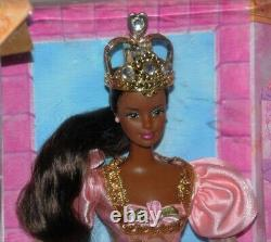 Rapunzel Barbie 1997 African American Doll AA NRFB Long Hair Hard To Find