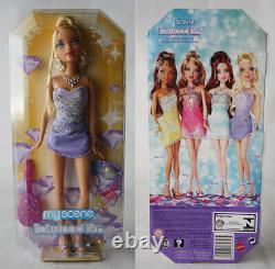Rare 2008 My Scene Hollywood Bling Kennedy Doll Barbie Mattel New Sealed