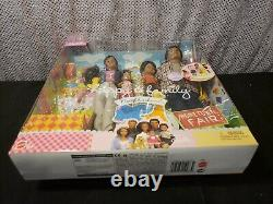 Rare Aa Happy Family Hometown Fair Barbie Doll Set 2003 Mattel C7535 Nrfb