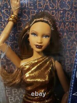 Rare Barbie Basics Doll Model No 8 Metallic Collection 2.1 Mattel T7924 Nrfb