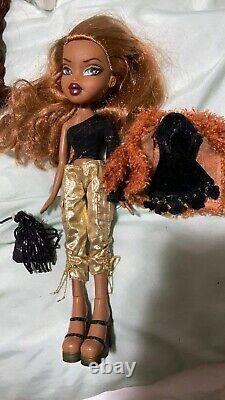 Rare Htf Bratz Flashback Fever Sasha Doll Excellent Cond