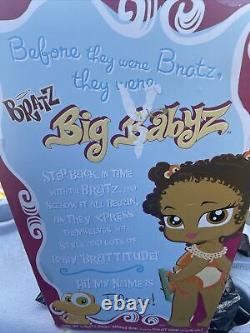 Rare In Package Bratz Big Babyz Felicia doll With Style Certificate