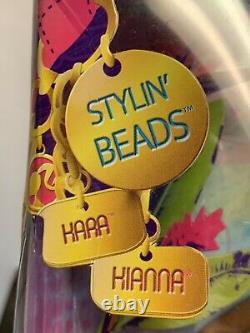 Rare Nrfb Barbie Sis Aa So In Style Kara & Sister Kiana Stylin Beads Doll